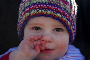 Utviklings Stans i en Walking baby