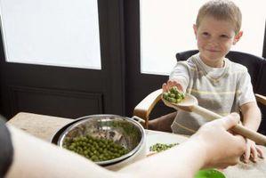 Hvordan oppmuntre barn til å spise sunt