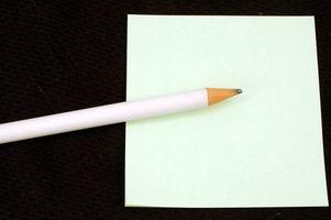 Hvordan skrive Takkekort for pengegaver