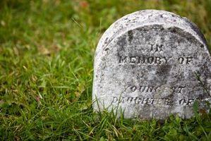 Hvordan finne en Long Lagt Relativ som ikke har noen Grave Marker