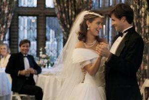 Hvordan planlegge et bryllup mottak Partiet