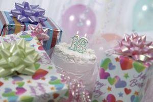 Finger Foods for en Sweet Sixteen Birthday Party