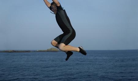 Hvordan å svømme med tumlere