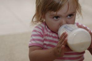 Hvordan vet jeg om barnet har en melkeallergi