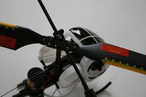 Hvordan å Fly RC Indoor Helicopters