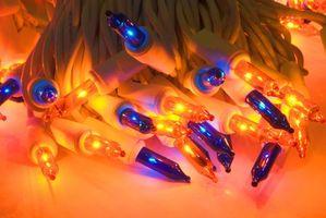 Hvordan Flash LED Christmas Lights