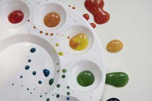 Ideer for Teaching Children Colors