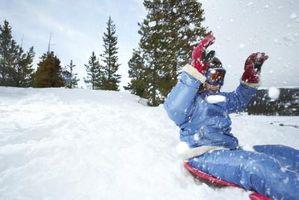 Hvordan lage leker for snø