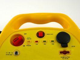 Hvordan koble opp en 24 Volt batterilader