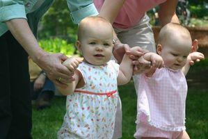 Sosiale aktiviteter for et spedbarn
