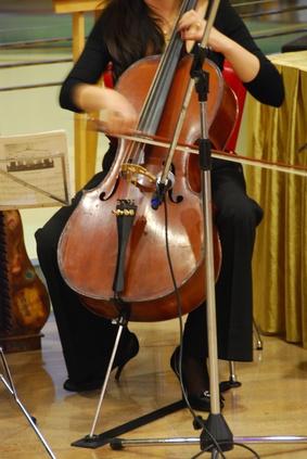 Hvordan åpne en låst Cello sak