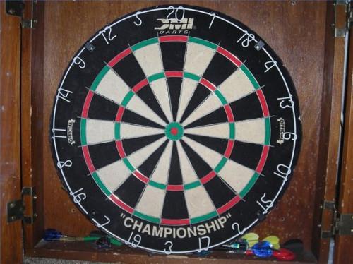 Slik spiller Around the Clock dart spill