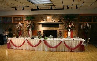 Design og ideer til Seating Planer for et bryllup