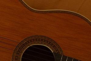 Slik fjerner riper fra en lakk Finish Når Polering Guitars