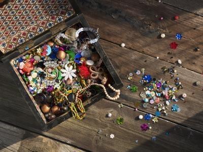 Bruk av Glass og plast perler
