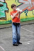 Action spill for barn