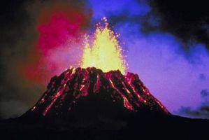 Hvordan fikk Volcanoes Danne på jorden?
