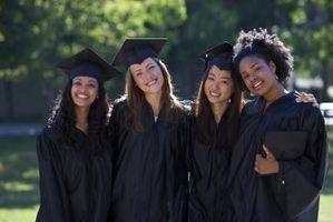 Den etikette for Graduation Kjoler