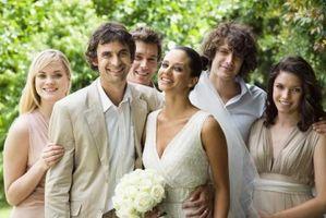 Ideer for en Gold Wedding Reception