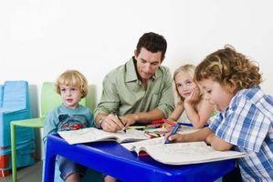 Problemer som kristne barn har i barnehagen