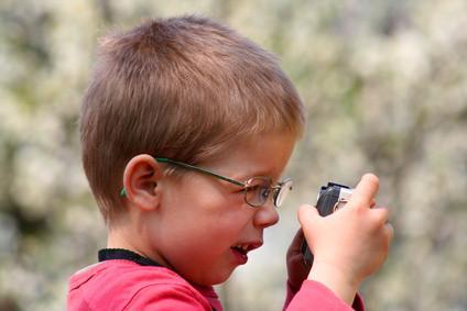 Hvordan bruke et kamera for unge