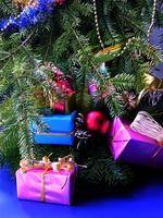 Dekorasjon ideer for en julegave tema fest