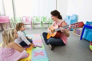 Førskole Ideer for Nursery Rhymes