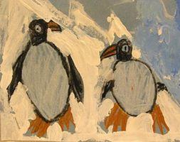 Penguin Kunst Aktiviteter for førskolebarn