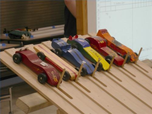 Pinewood Derby konstruksjonsteknikker og Design Built for Speed