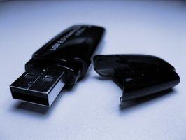 Hvordan få tilgang til minnebrikken i en PS3