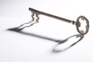 Slik reparerer en Skeleton Key Lock