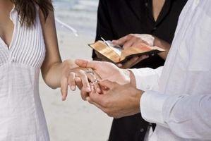 Hvordan finne en velsignelse for Wedding Prayers