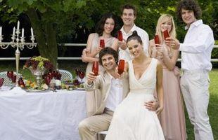 Fall Wedding Color Ideer for Bord