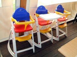 Funksjoner for å se etter i baby barnestoler