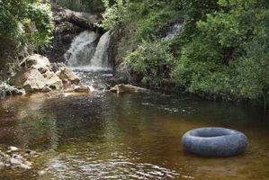 Virkningene som øker eller redusere mengden av oppløst oksygen i vannet
