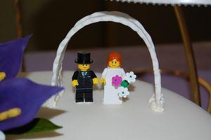 Hjemmelaget Wedding Cake dekorasjoner