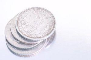 Hvordan finne verdien av gammelt sølv dollar