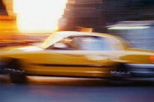 Spill som består av å være en Taxi Cab Driver
