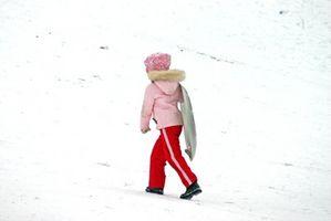Morsomme Vinterstid Fysiske aktiviteter for barn