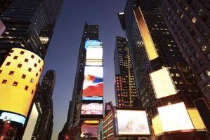 Times Square Hotell med utsyn til ballen slippe