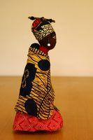 Hvordan lage African American hår for en Rag Doll
