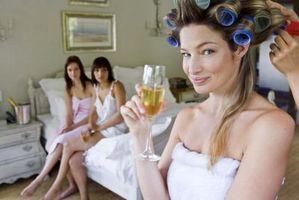 Hvordan lage ditt eget bryllup frisyrer