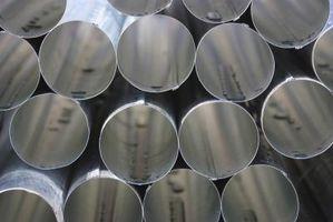 Dimensjoner på Carbon Steel Pipes