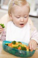 Hjelpe en Toddler lære å spise Tabell Food