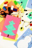 Hvordan Craft Window Kunst Julekort
