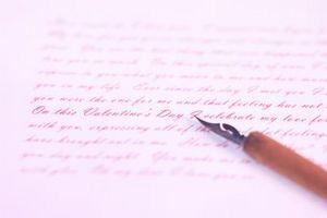 Hvordan endre blekk farge i en penn