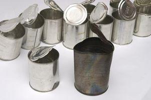 Hvordan resirkulere metall bokser