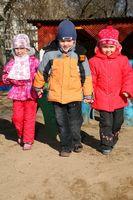 Utvikling Sjekkliste for barn i barnehage