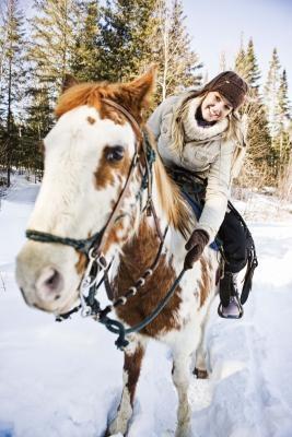 Hvordan frigjøre endorfiner i en hest