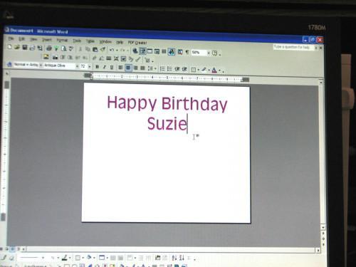 Hvordan lage & Print Bursdag Signs